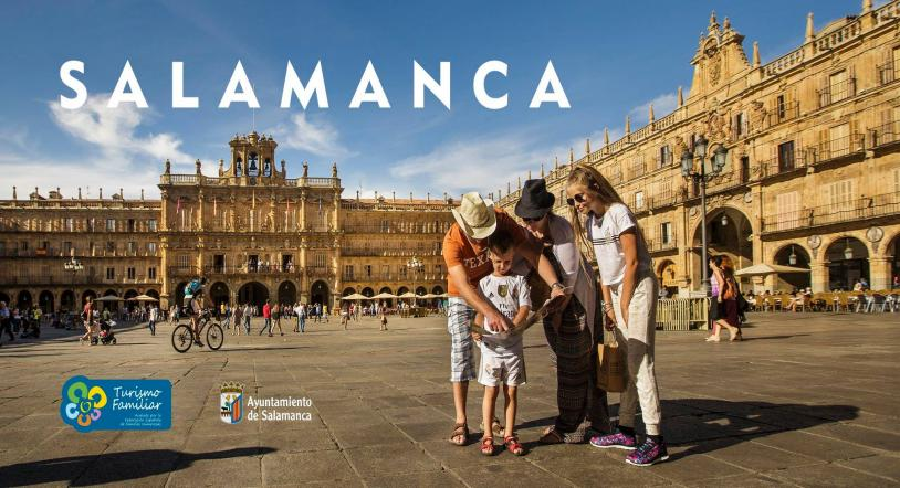 Salamanca, distinguida con el sello de Turismo Familiar