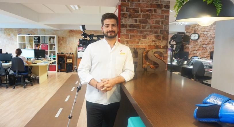 Alberto Bajo, de Clavel Ocho, el acc�sit 'Empresario Joven del A�o' de los Premios de Hosteler�a