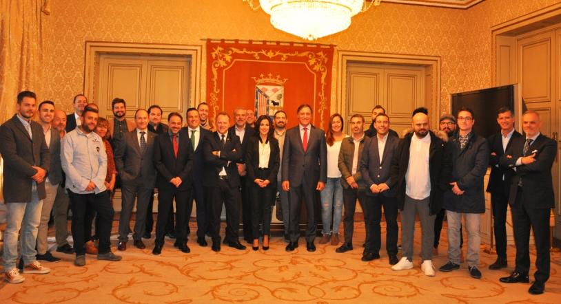 Recepci�n oficial en el Ayuntamiento a los Premios de Hosteler�a de Salamanca